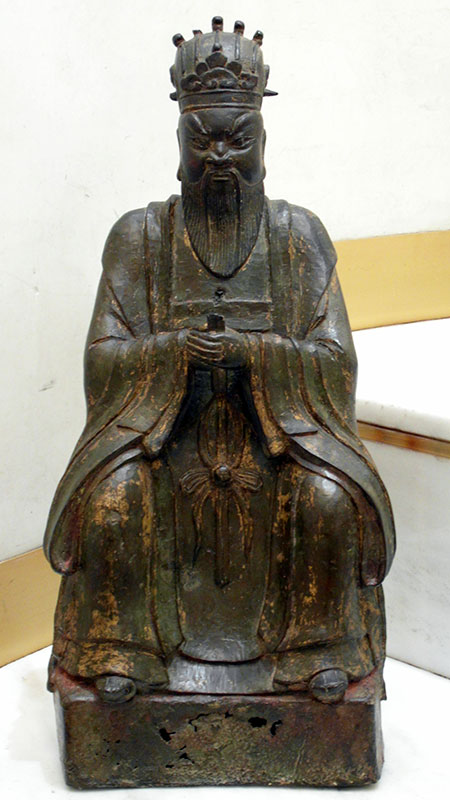 grand immortel taoïste - Grand Immortel taoïste - Dynastie Ming vers 1600 - bronzes